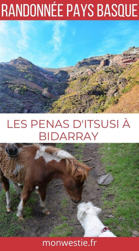 Randonnée Pays Basque Bidarray
