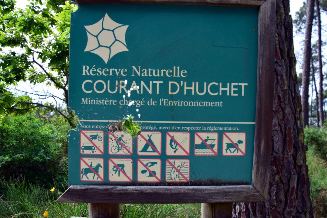 Réserve nationale du Courant d'Huchet