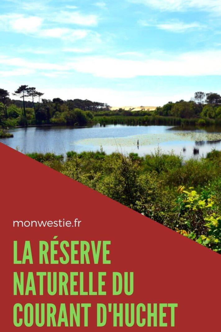 Marais de la Pipe dans la réserve naturelle